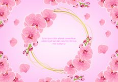Beautiful pink flower pattern background vector image vector illustration