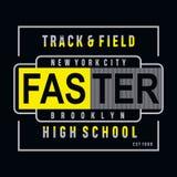 PrintAthletic sport high school typography, tee shirt graphics vector illustration