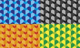 Abstract background with squares stock illustration