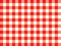 Gingham pattern stock illustration