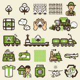 Cycle of t shirt icon. vector illustration