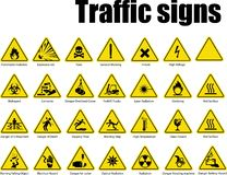 Traffic signs only you company vector illustration