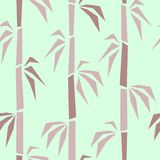Bamboo surface seamless pattern stock illustration