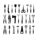 Set of garden tools. Set of various gardening tools isolated on white background. Garden tool kit. Vector illustration for your graphic design vector illustration