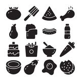 Food and Diet Vector Pack stock illustration