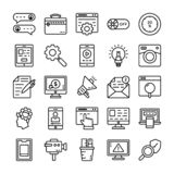 User Interface Vector Icons vector illustration
