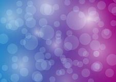 Blue Purple Bubble Background banner web stock illustration