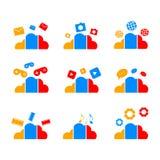 Smartphone icon template design vector vector illustration