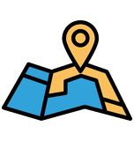 Address navigator Isolated Vector Icon which can easily modify or edit Address navigator Isolated Vector Icon which can easily mo. Address navigator Isolated royalty free illustration