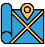 Address navigator Isolated Vector Icon which can easily modify or edit vector illustration