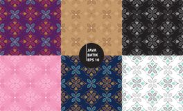Yogyakarta java indonesia traditional batik heritage seamless pattern background. Easy to edit vector illustration