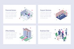 Business Vector Illustrations Design Pack. Business illustrations pack is best for your corporate design projects. Editable illustrations are best for your stock illustration