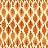 Print Vector Abstract Leaves Pattern Large and small royalty free illustration