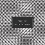Modern Geometric Monochrome Tile Pattern Background vector illustration