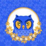 Owl animals Labels vector illustration stock illustration