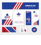 Happy independence day 4 th july, United states of america day. Layout, design,template.Vector illustration. Happy independence day 4 th july, United states of royalty free illustration