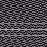 Vector seamless triangles pattern maori, ethnic, japan style. Modern style texture. stock illustration