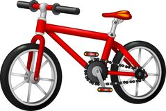 Fuuny Red Bike Cartoon