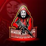 Gangster esport logo mascot design
