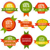 Vector labels and badges set Royalty Free Stock Photos