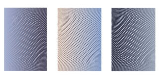 Print. Abstract background. Minimalistic cover design templates. Set of layouts for covers of books, phones,albums, notebooks, reports, magazines. Line halftone Stock Image
