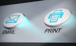 Print Stock Image