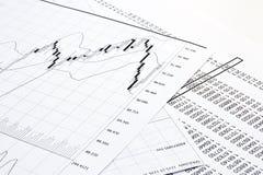 Print chart Royalty Free Stock Photos