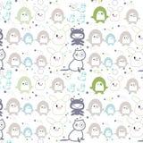 Print children wallpaper Stock Images