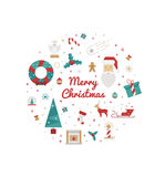 Print for Christmas decorations Royalty Free Stock Photo