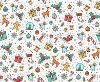Print for Christmas decorations Stock Images