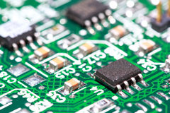 Print circuit board Royalty Free Stock Image