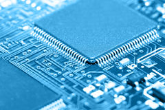 Print circuit board Royalty Free Stock Images