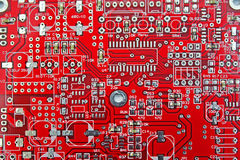 Print Circuit Board (PCB) Royalty Free Stock Photo