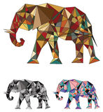 Elephant colored concept Stock Images
