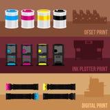 Print equipment Royalty Free Stock Photos