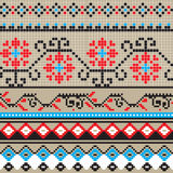 Traditional pixel pattern Stock Photography