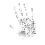 Print of hand of child, cute skin texture pattern,vector grunge. Illustration royalty free illustration