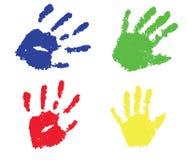 Print hand Stock Image