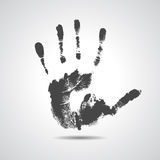 Print of hand of man, cute skin texture pattern Royalty Free Stock Photos
