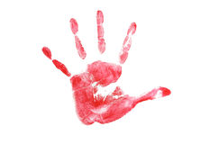 Print of hand skin texture pattern grunge Royalty Free Stock Photo