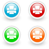 Print icon Stock Images
