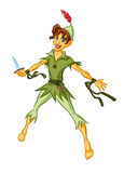 Peter Pan Royalty Free Stock Image