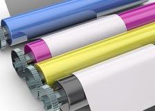 Print Machine - 3D Stock Photo