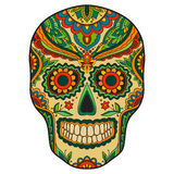 Print mexican traditional scull Stock Photo