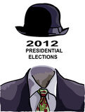 Print for Presidential elections Royalty Free Stock Photography