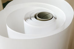 Print Roll of thermal paper Stock Photography