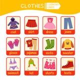 Kids learning material. stock illustration