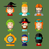 Avatars Royalty Free Stock Photo