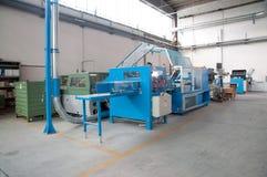Print shop (press printing) - Finishing line Stock Photo