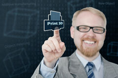 Print! Royalty Free Stock Image